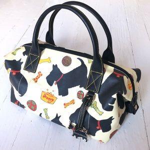 Dooney & Burke Scottie Dog Barrel Handbag